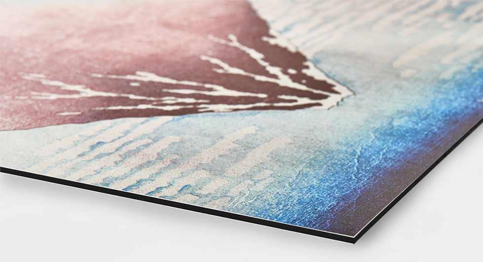 Dibond for Schilderij op aluminium