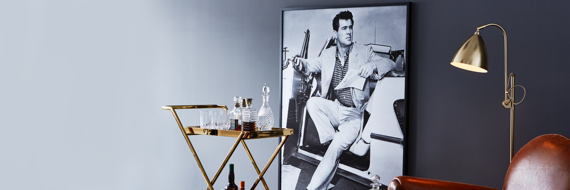 Rock Hudson op canvas