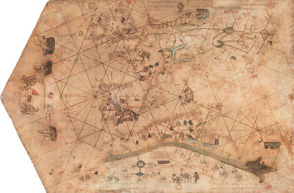 Portolan Chart , Old World