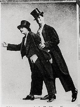 Mistinguett (1875-1956) and Maurice Chevalier (1888-1972)