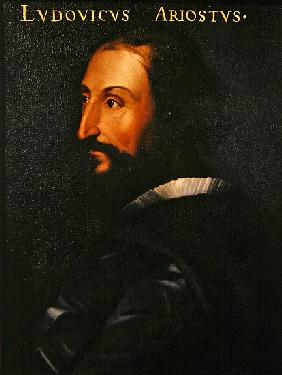 Portrait of the poet Ludovico Ariosto