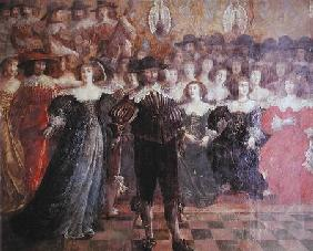 The Court Ball  (detail)