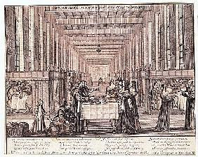 The Infirmary of the Sisters of Charity during a visit of Anne of Austria (1601-66) 1635 (see also 2