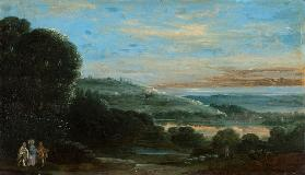 Landscape with the Walk to Emmaus