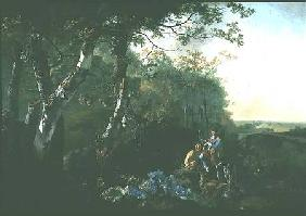 Landscape with Sportsmen and Game