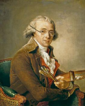 Portrait of Francois-Andre Vincent (1746-1816)