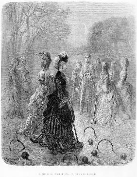 A Game of Croquet, from the ''London at Play'' chapter of ''London, a Pilgrimage'', written by Willi