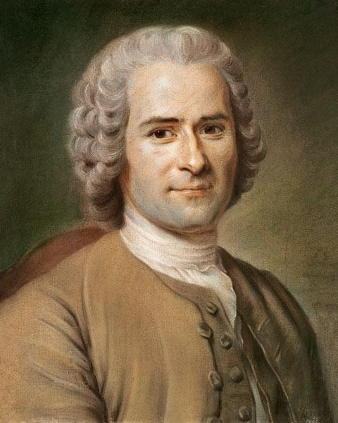 Jean-Jacques Rousseau (1712-78) after 1753