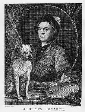 Self Portrait; engraved by T. Cook