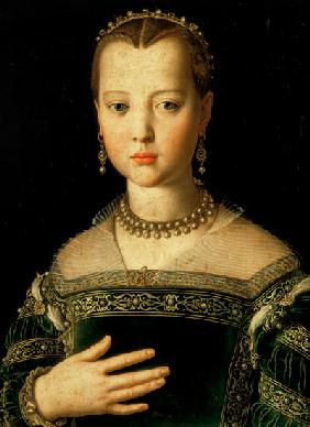 Portrait of Marie de' Medici (1573-1642) as a child