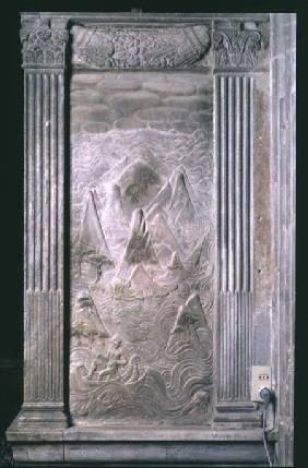 The influences of the Moon from a series of reliefs depicting the planetary symbols and signs of the
