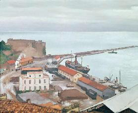 The Port of Bougie in Grey Weather