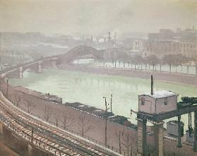 The River Seine at Grenelle