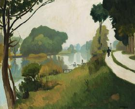 The Marne at Varenne-Saint-Hilaire