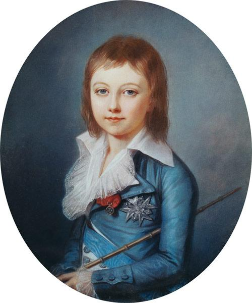 Medallion Portrait of Louis-Charles (1785-95) King Louis XVII of France