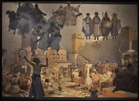 The Introduction of the Slavonic Liturgy (The cycle The Slav Epic)