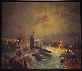 After the Battle of Vítkov Hill (The cycle The Slav Epic)