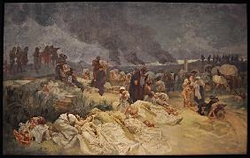 Petr Chelcicky at Vodnany (The cycle The Slav Epic)