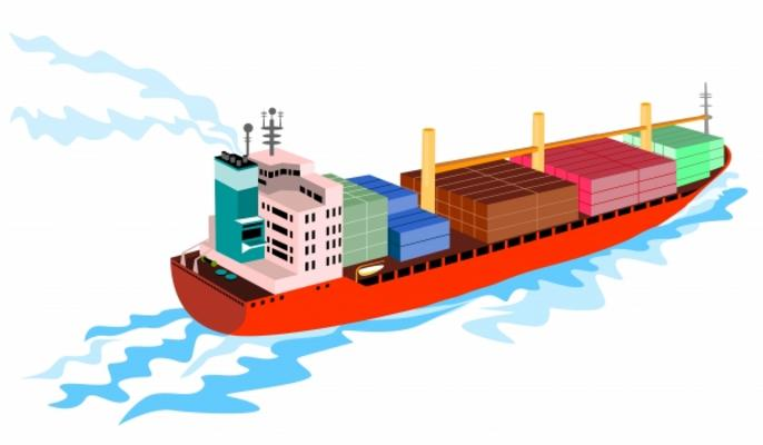 clipart container ship - photo #1
