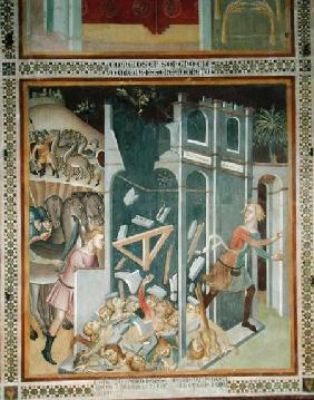 The Destruction of the House of Job and the Theft of his Herd by the Sabians