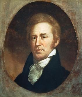 Portrait of William Clark, American explorer and governor of Missouri Territory