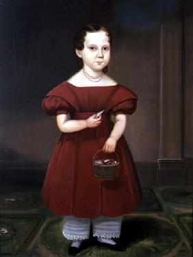 Portrait of a Girl with Cowry Shells