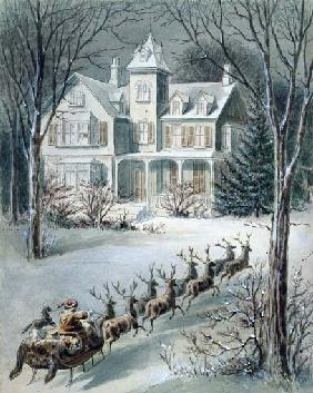 Illustration from 'Twas the Night Before Christmas'