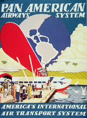 Pan American Airways System poster
