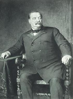 Grover Cleveland, 22nd and 24th President of th United States of America, pub. 1901 (photogravure)