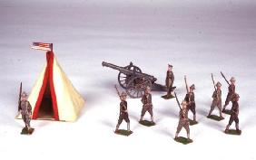 Toy Soldiers, c.1920 (metal)