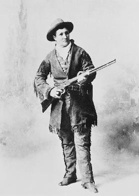 Martha Canary (Calamity Jane) c.1895