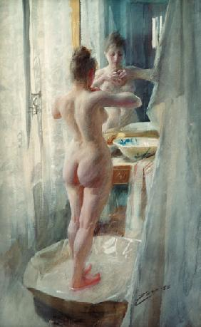 Anders Zorn / The Bathtub / 1888