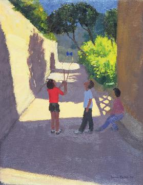 Diabolo, France, 1997 (oil on canvas)
