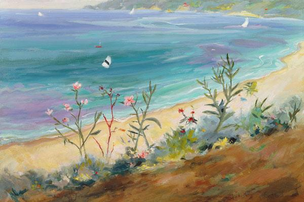 Agios Gordios, Corfu, Greece (oil on canvas)