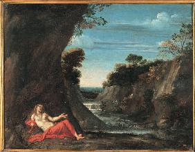 Landscape with the penitent Magdalene