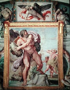 Polyphemus Attacking Acis and Galatea