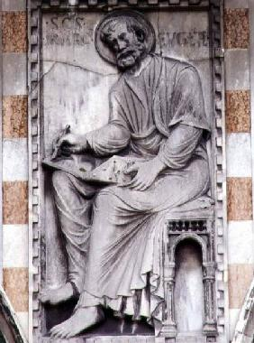 Relief from the north side of the basilica, St. Mark
