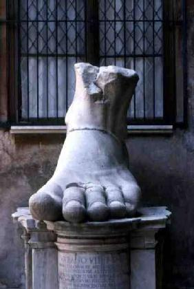 Sculpture of a Foot