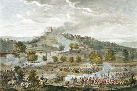 The Battle of Montebello and Casteggio, 20 Prairial, Year 8 (9 June 1800) engraved by Jean Duplessi-