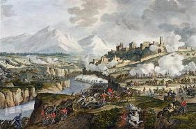 The Battle of Roveredo, 18 Fructidor, Year 4 (September 1796) engraved by Jean Duplessi-Bertaux (174