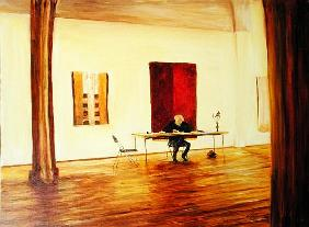 The Gallery, 1999 (oil on canvas)
