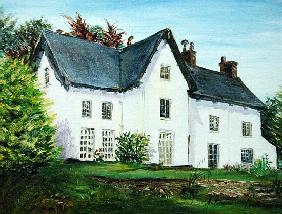 The Old Rectory, 1999 (oil on canvas)