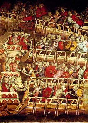 The History of Pope Alexander III (1105-81): The Venetian Fleet Victorious over that of Emperor Fred