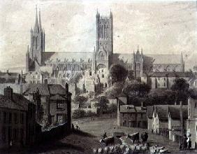 Lincoln Cathedral from the South