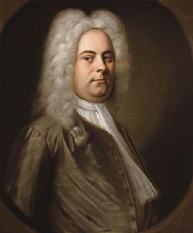 Portrait of the composer George Frideric Handel (1685-1759)