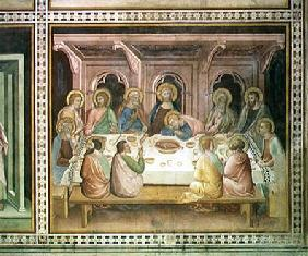 The Last Supper, from a series of Scenes of the New Testament
