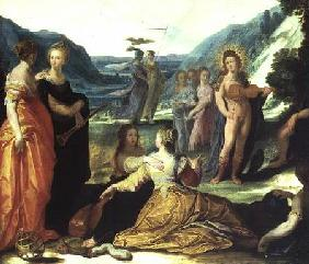 Apollo, Pallas and the Muses