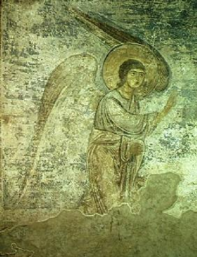 The Archangel Gabriel, detail from the chapel interior