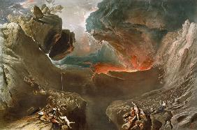 The Great Day of His Wrath (after John Martin)
