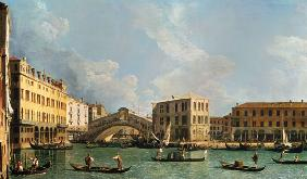 View of the Rialto Bridge, from the North